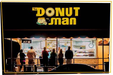 the donut man
