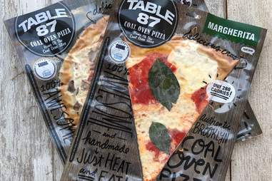 table 87 frozen pizza slice new york brooklyn shark tank pizzas margherita cheese basil tomato