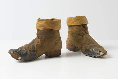 Keith Richards' boots