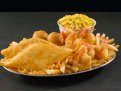 long john silver's lent lenten season deals promotion bogo fish fried shrimp chicken tenders hush puppies food fast