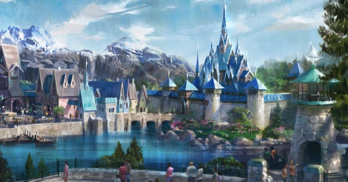 A Big 'Frozen' Land Is Coming to Disneyland Paris & Here's What It'll Look Like