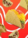 fasties tacos taco fast food burger king carl's jr hardee's del el pollo loco john's jack in the box cheese beef meat value