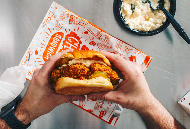 This Easy Hack Is a Delicious New Twist on the Popeyes Chicken Sandwich