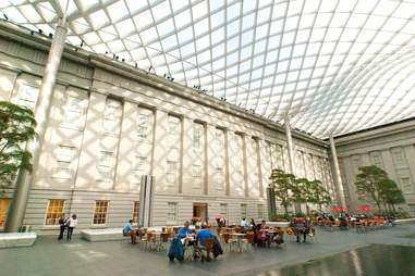 Kogod Courtyard - Smithsonian American Art Museum and Portrait Gallery