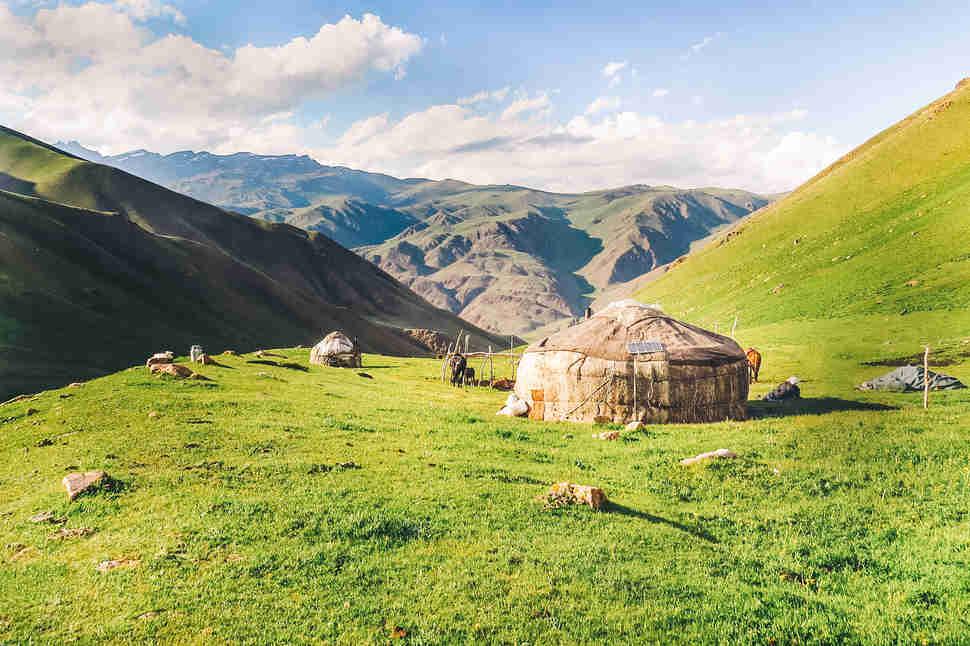 Kirguís Yurta