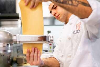 International Culinary Center pasta class