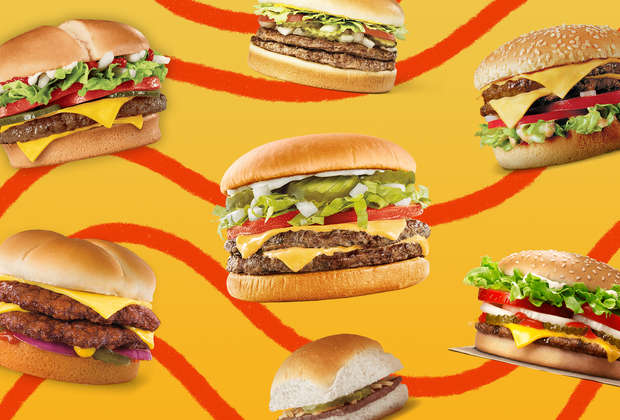 The Best Fast Food Cheeseburgers, Ranked