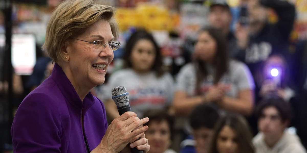 Now This - #WhereIsWarren? Voters Wonder At Candidate's Exclusion From Polls and Media Coverage