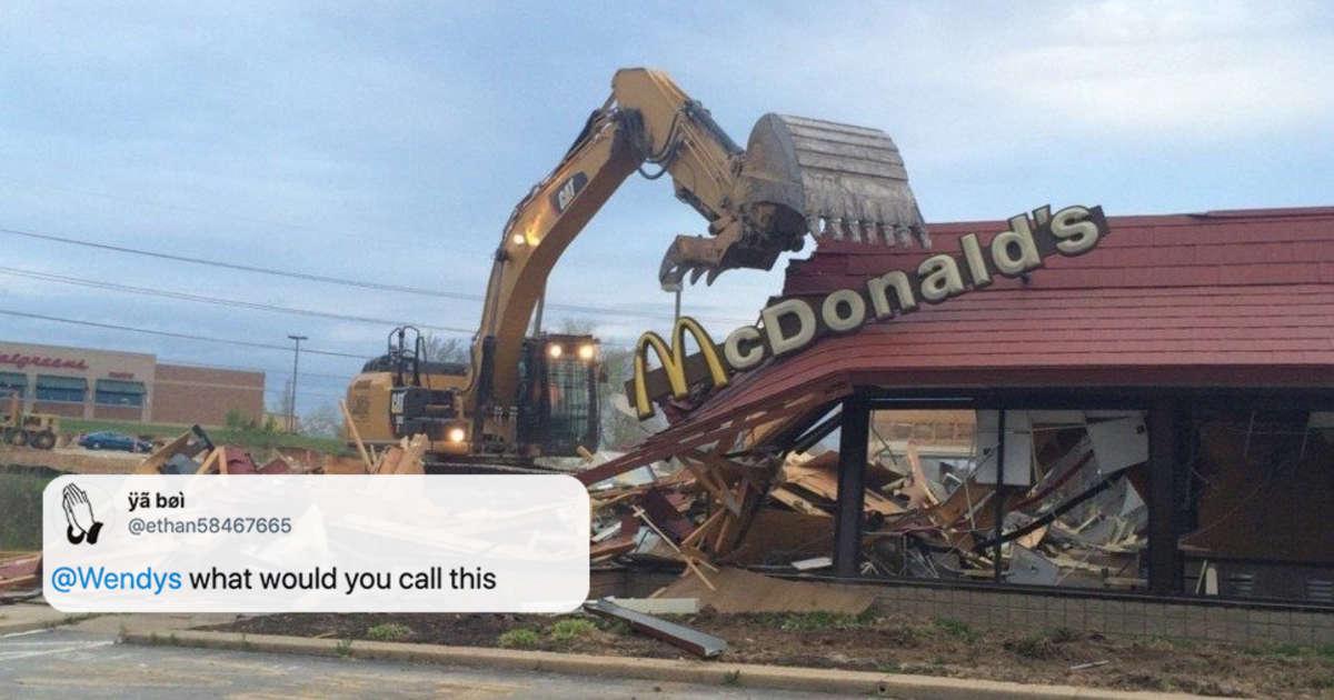 Wendy's Continues Beefing With McDonald's in Latest Tweet - Thrillist