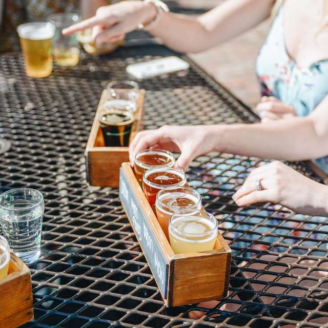 NEW The Traveler Beer Co Table Top Cornhole Game