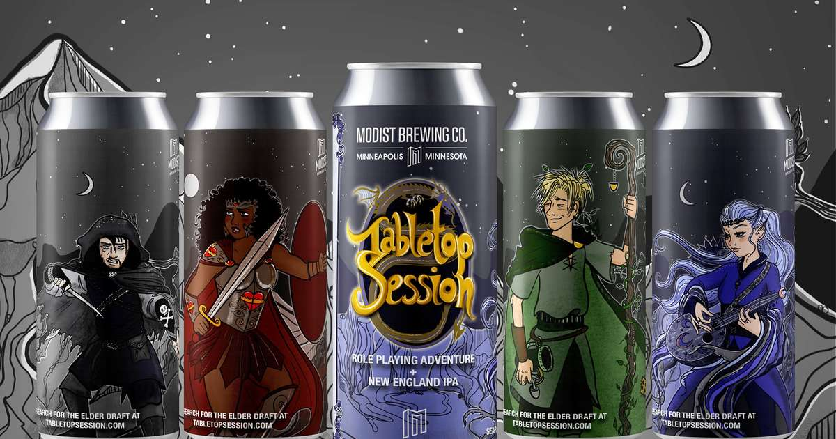 This Beer Has a Dungeons & Dragons-Style Game Right on Its Label