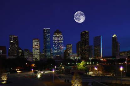 Houston de noche