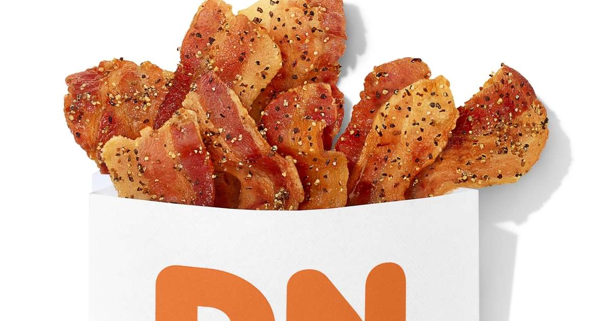 Dunkin' Has New 'Snackable' Bacon Seasoned With Sweet Pepper