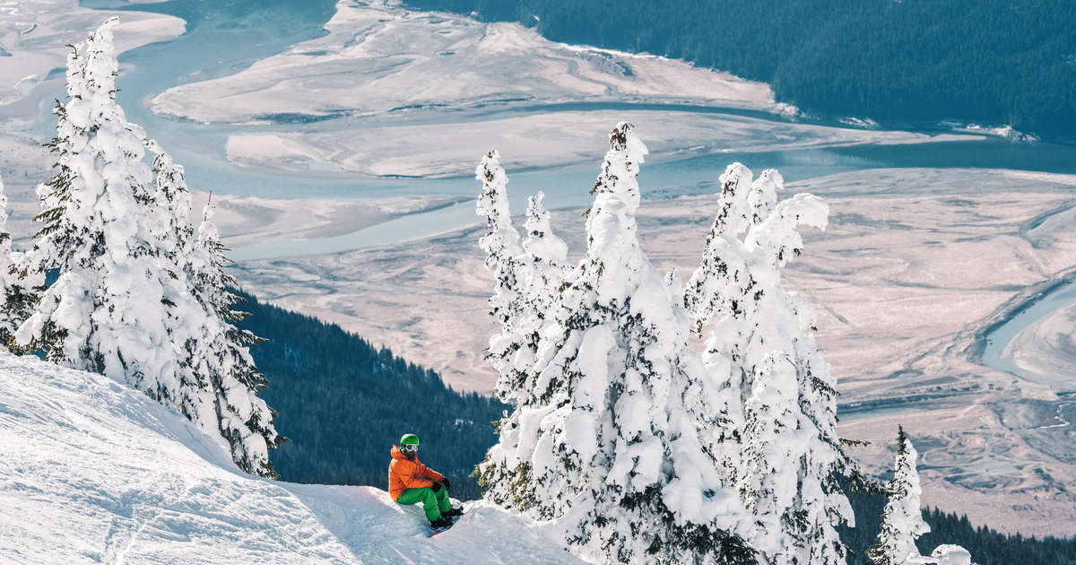 Shredding Canada's Towering Powder Highway is Like Skiing Through Time