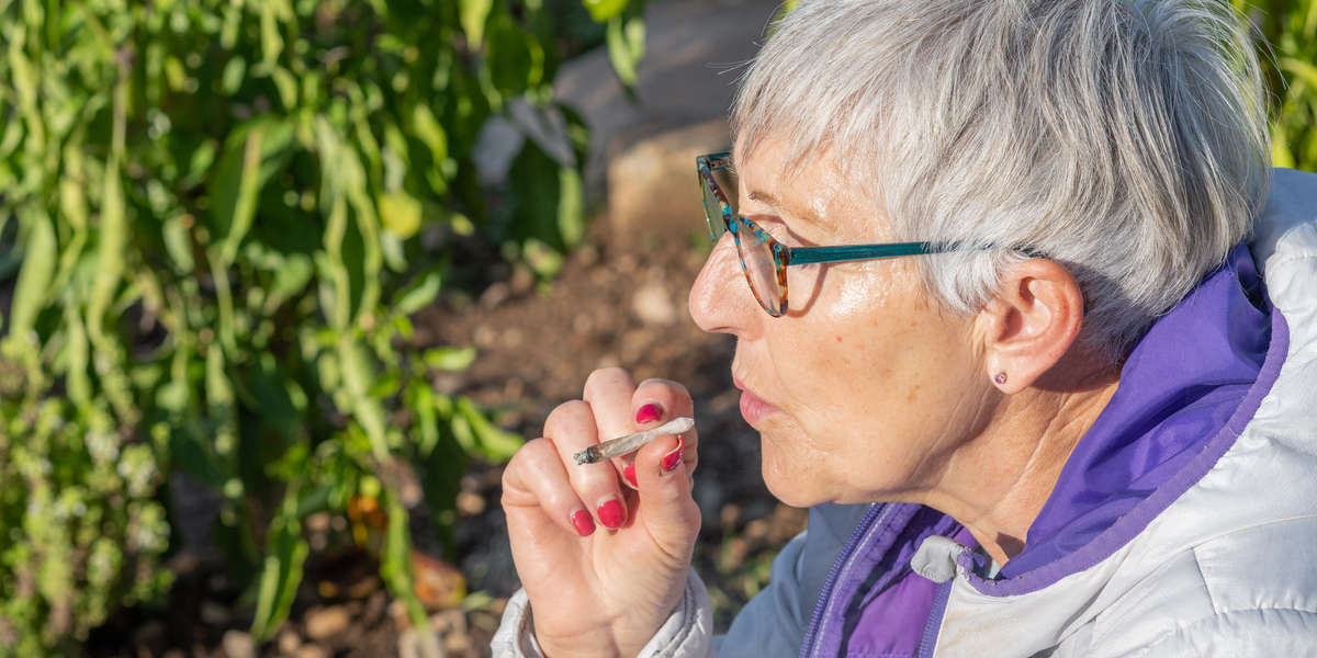 Senior Americans' Weed Use Nearly Doubled in 3 Years