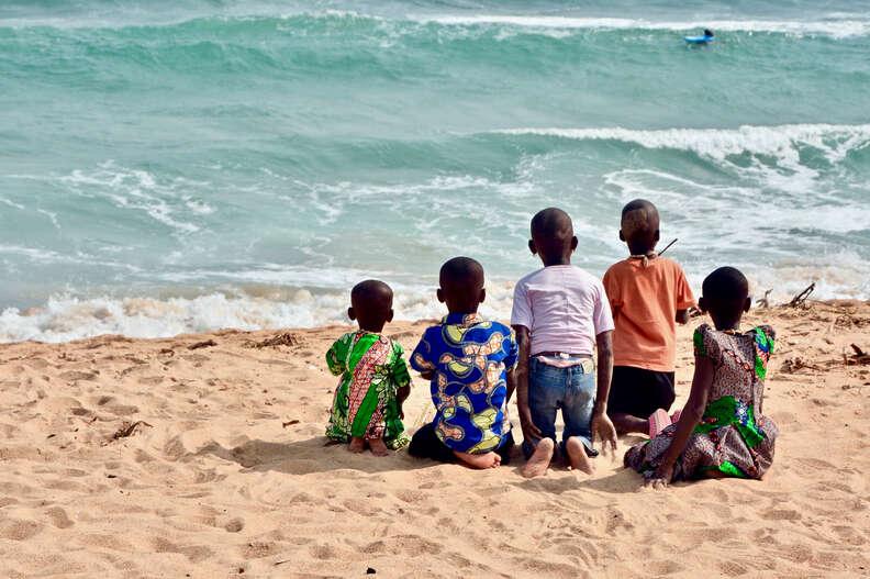 Lomé beach in Tog