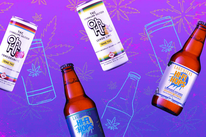 Weed Claws cannabis infused sparkling beverages