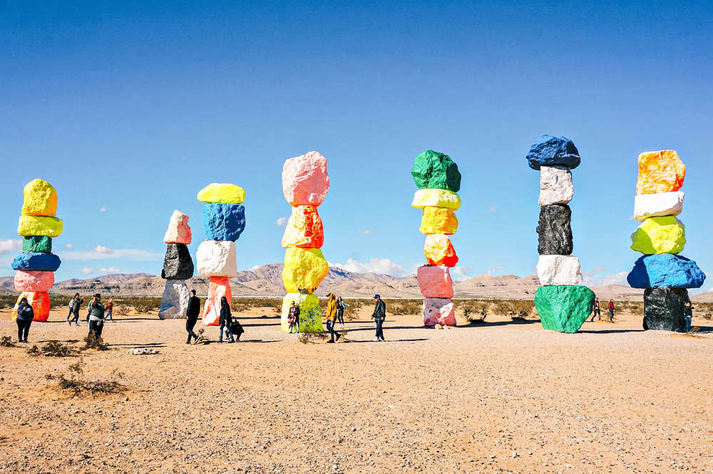 The La To Las Vegas Drive Best Attractions Things To See On The Way Thrillist