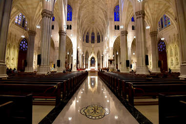 st patrick's cathedral interior