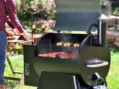 Traeger pellet grill on sale