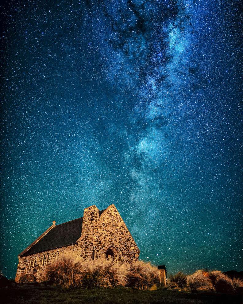 Milkyway over Church of the Good Shepherd