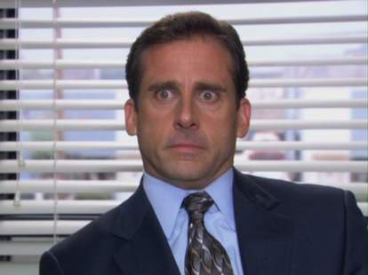 paid to watch the office