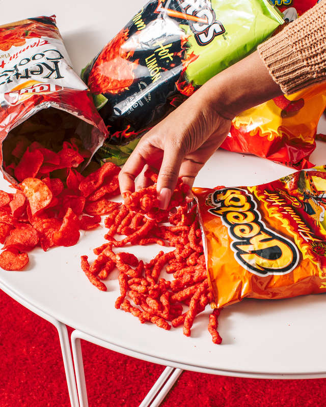 flamin' hot snacks