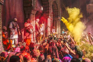Holi Festival, Vrindavan, India