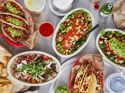 chipotle burrito tacos zoom meeting meet up colton underwood party free delivery lunch cheese queso guacamole