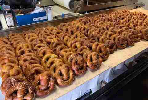 west coast pretzels