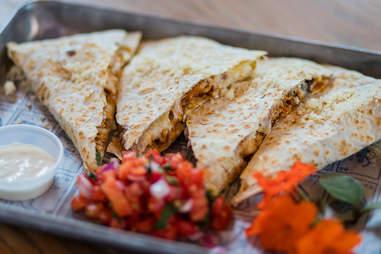 Coyo Taco quesadillas