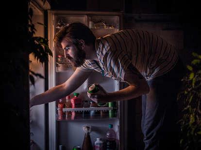 late night refrigerator