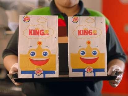 free burger king kids meal