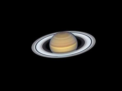 Saturn and mars tonight