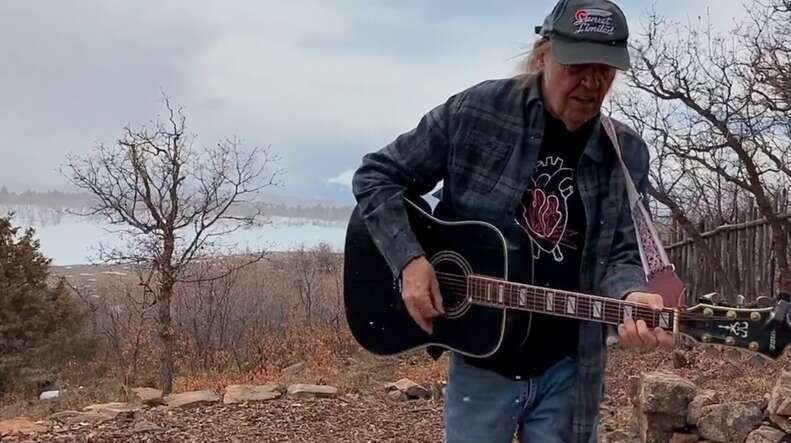 neil young stream