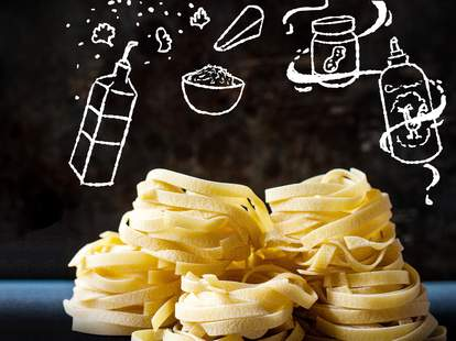 pasta noodles for cooking
