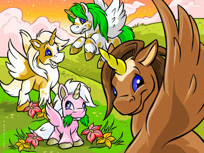neopets unis blog neopet neopoints neopia virtual online forum games game omelette pet
