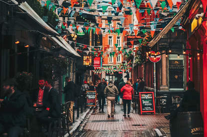 Temple Bar Street in Old Town