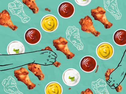 chicken wing dips