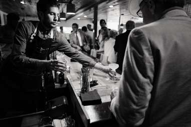 bartender at intero