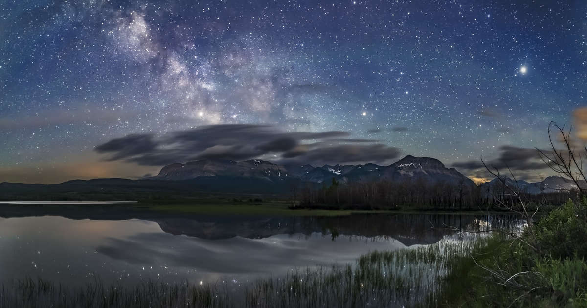 April Is Full of Spectacular Stargazing Events. Here's When & How to See Them.