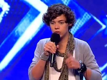 harry styles x factor audition