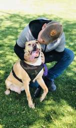 dog adopted after 4 years
