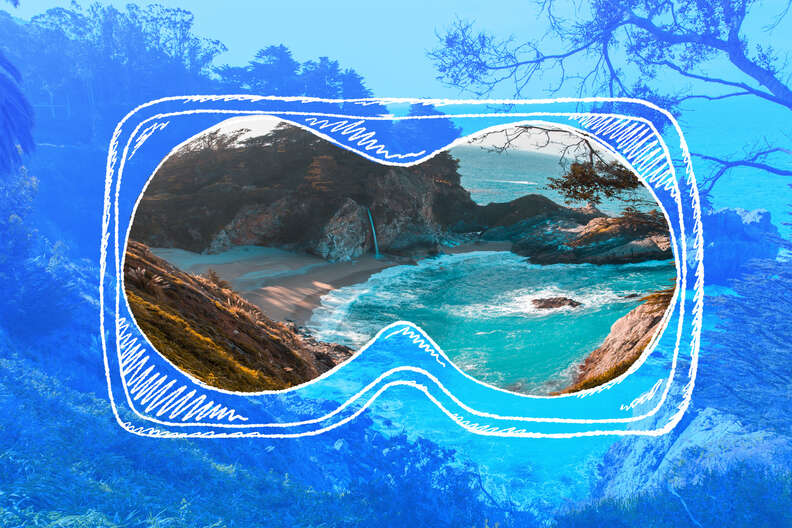 virtual reality beaches