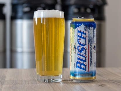 busch beer wedding