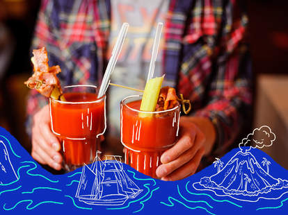Hawaiian bloody mary