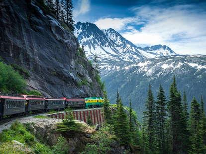 White Pass and Yukon train, Alaska