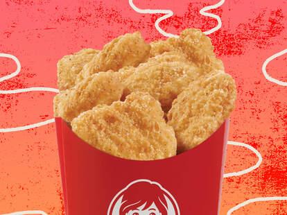 wendy's chicken nuggets free