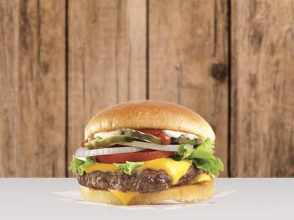 free wendy's burger