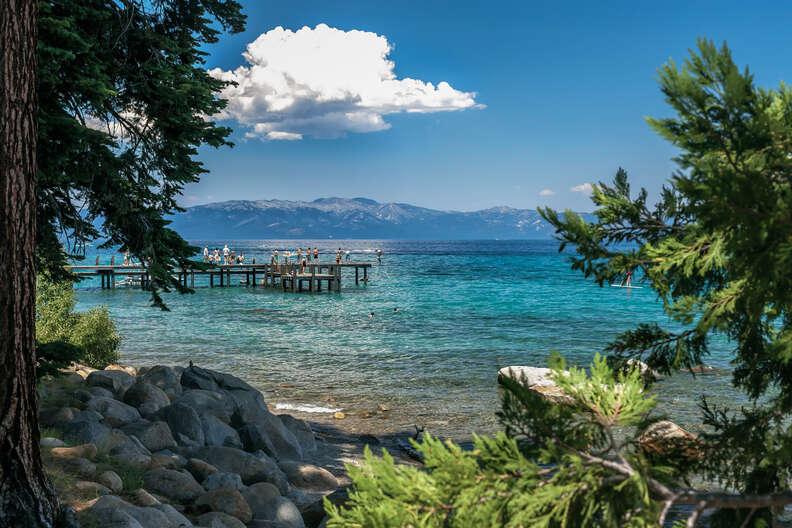 Sugar Pine Point Pier, Southern Lake Tahoe